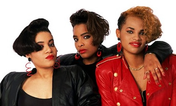 Yes, that's Salt 'n' Pepa