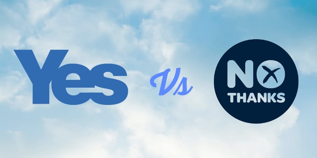 Who's Winning the #indyref Social Media Battle Now? (Updated 17.09.14)